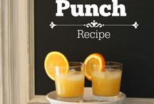 Drinks recipes for party planning