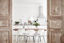 Scandinavian Kitchens / Inject a touch of Scandinavian elegance into your home with these Scandi-inspired kitchen schemes.