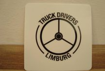 Truck Drivers Limburg / A pin whit pictures from a Dutch province