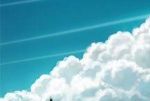 Sky, drawing