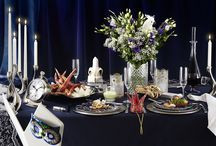 Party style table settings, by me.