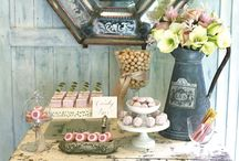 Sherry Lou Style Wedding / 99.9% DIY-able wedding! Colors, decorations, cakes, sweets and everything for a creative outdoor wedding.