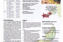 Seminar, Pelatihan, Rakor, Kongres, dll, bidang RMIK