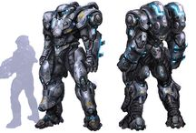 sci fi power armor