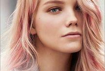 rosegold hair