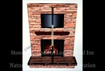 Stone Veneer Fireplace   3D Design and Installation / Based in Deer Park N.Y,Stone Creations of Long Island provides Masonry Home Improvements to customers throughout Long Island. Established in 2009 Stone Creations of Long Island's team has over 20 years experience in the Masonry and Concrete Business. Stone Creations of Long Island looks forward to hearing from you. Call for a free estimate: (631) 678-6896 (631) 404-5410  http://www.stonecreationsoflongisland.net / by Stone Creations of Long Island