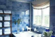 ♤ Bathroom for Blue Classic Bedroom ♤