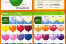 guía globos