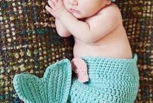 knitting and crotcheting