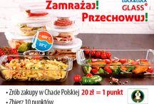 Zapiekaj, zamrażaj, przechowuj! / Nowa akcja promocyjna Chaty Polskiej - rób zakupy w Chacie, zbieraj punkty, wymieniaj je na zniżki na profesjonalne, wysokiej jakości pojemniki do żywności z opatentowanym zamkiem Lock&Lock!