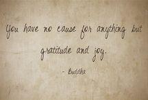 Quotes About Gratitude / Gratitude Quotes