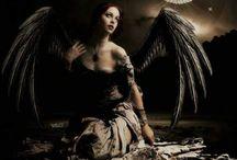 ANGELES Y DEMONIOS / #angeles #demonios #cielo # infierno