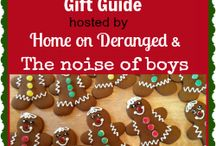 2013 Holiday Gift Guide / The Ultimate Holiday Gift Guide, presented to you by Home on Deranged and The Noise of Boys. Full of reviews and giveaways to make the holidays merry and bright! For more information, email ourhomeonderanged@gmail.com or jodi@thenoiseofboys.com.