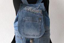 Mochila de Jeans