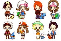 "Chibis / Cute chibis and baby(a little bit -_-"")"