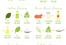 Yummy salad dressings