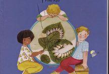 Gusanos de seda / Como crecen los gusanos de seda. Sus fases