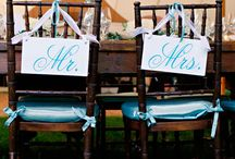 Blue Theme Weddings / Gathering of cute Ideas for J and A