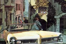 American Cars Art