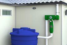 Water tank instalment