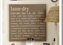 Laundry room decor  / by Lc DeBosky