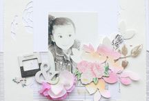 Layout. Floral