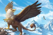 The Griffin / A mythical creature with the head and wings of an eagle and the body of a lion. / by Grand Rapids Griffins