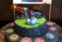 Skylander cakes