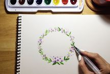 Watercolour Art / learning the art of watercolour painting at 30. its never too late to try.