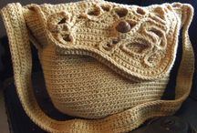 crochet bags / Wonderful and practice