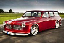 Ombyggda Volvobilar