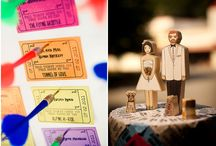 Carnival Theme Weddings / carnival themed wedding inspirations / by Gourmet Invitations