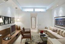 narrow living rooms