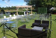 Garden Party / Having an outdoor wedding? We have all of your needs! Party Time Rentals -613-745-9400