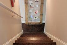 Staircase ideas / by Vanessa Ellis