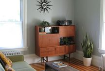 House Inspiration - Mid Century Home / Inspiration and furniture ideas for a Mid Century Modern home.