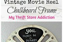 How to Re-Purpose Those Old Film Reels / Creative ways to re-purpose old film reels