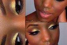 maquillage peau noir