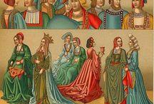 Historia del Traje - Edad Media SXIII al SXV