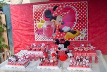 Aniversário Minnie / decoração