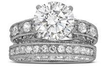 Wedding Ring Set / Lovely Affordable Wedding Rings, Bridal sets