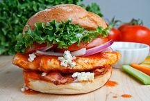 Food ~ Sandwiches «» / Sandwiches, party, individual, main course