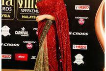 Gorgeous sarees of Deepika Padukone / Collection of amazing sarees of Deepika Padukone! http://bit.ly/1T6R0ph #DeepikaPadukone