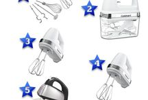 Best Hand Mixers / A collection of the best hand mixers. This is a board created by Relevant Rankings (relevantrankings.com) where we review, rate and rank various products, services and topics.
