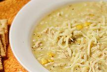 Souper / soups, chilis and stews