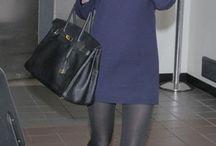 AL-платье синее вязанное
