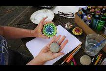 malowanie kamieni itp