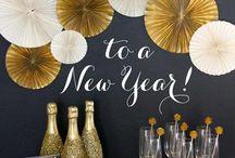 Fiesta de año nuevo / by {Un dulce hogar}