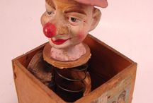 vintage toys / by Peggy Benson