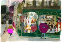 Urban environment in Children's Book Illustration